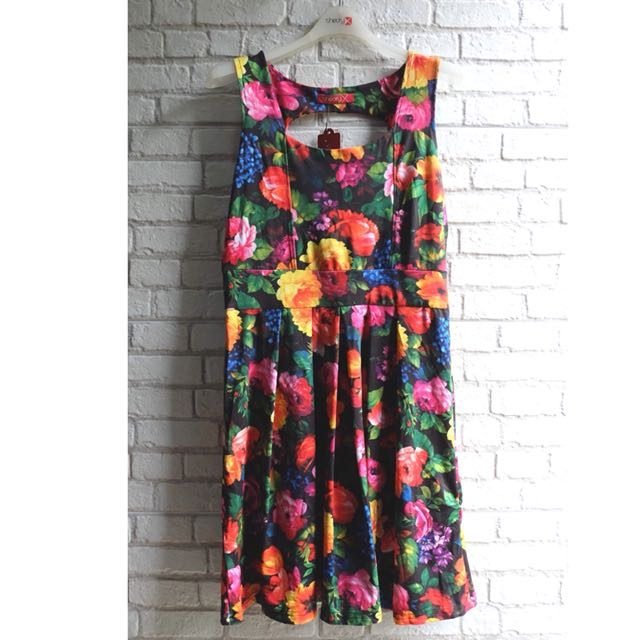 [NEW] Dress Floral Mission72