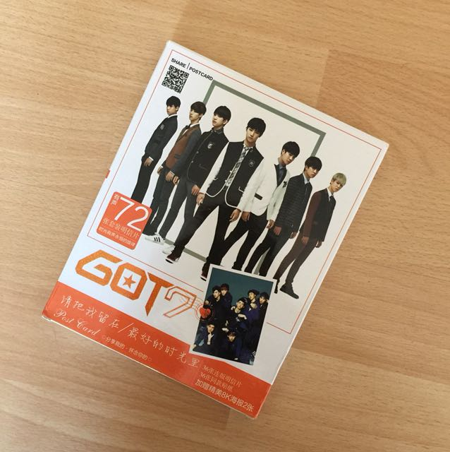 [NEW] got7 post cards posters and stickers