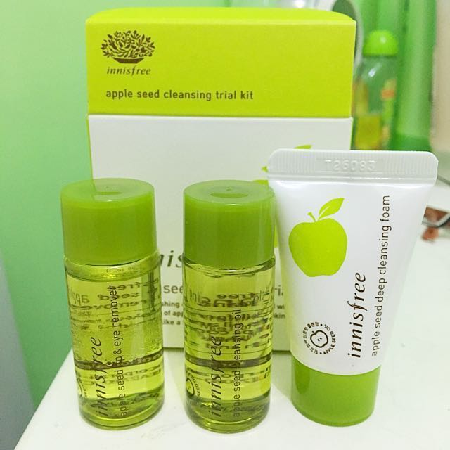 [NEW] Innisfree Apple Seed Cleansing Trial Kit Sample