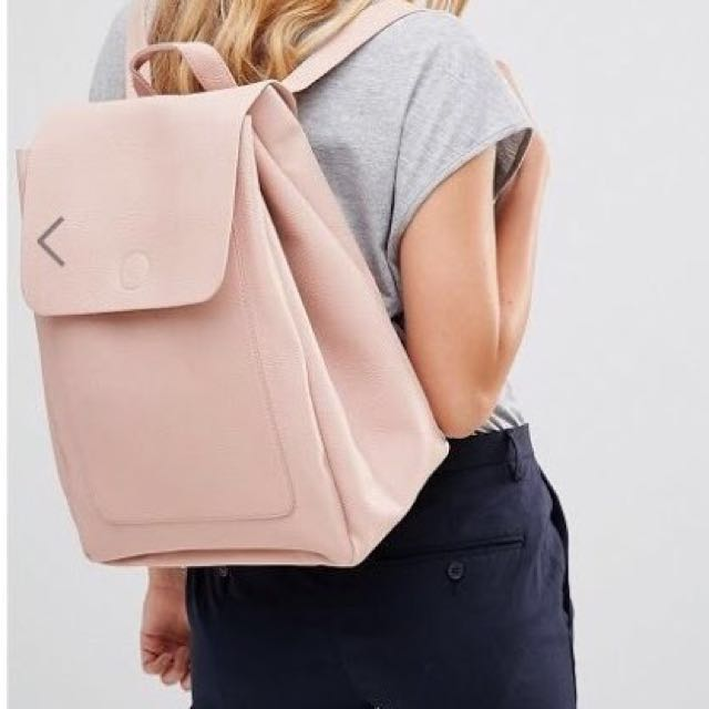 New Look Minimal Backpack in Pink
