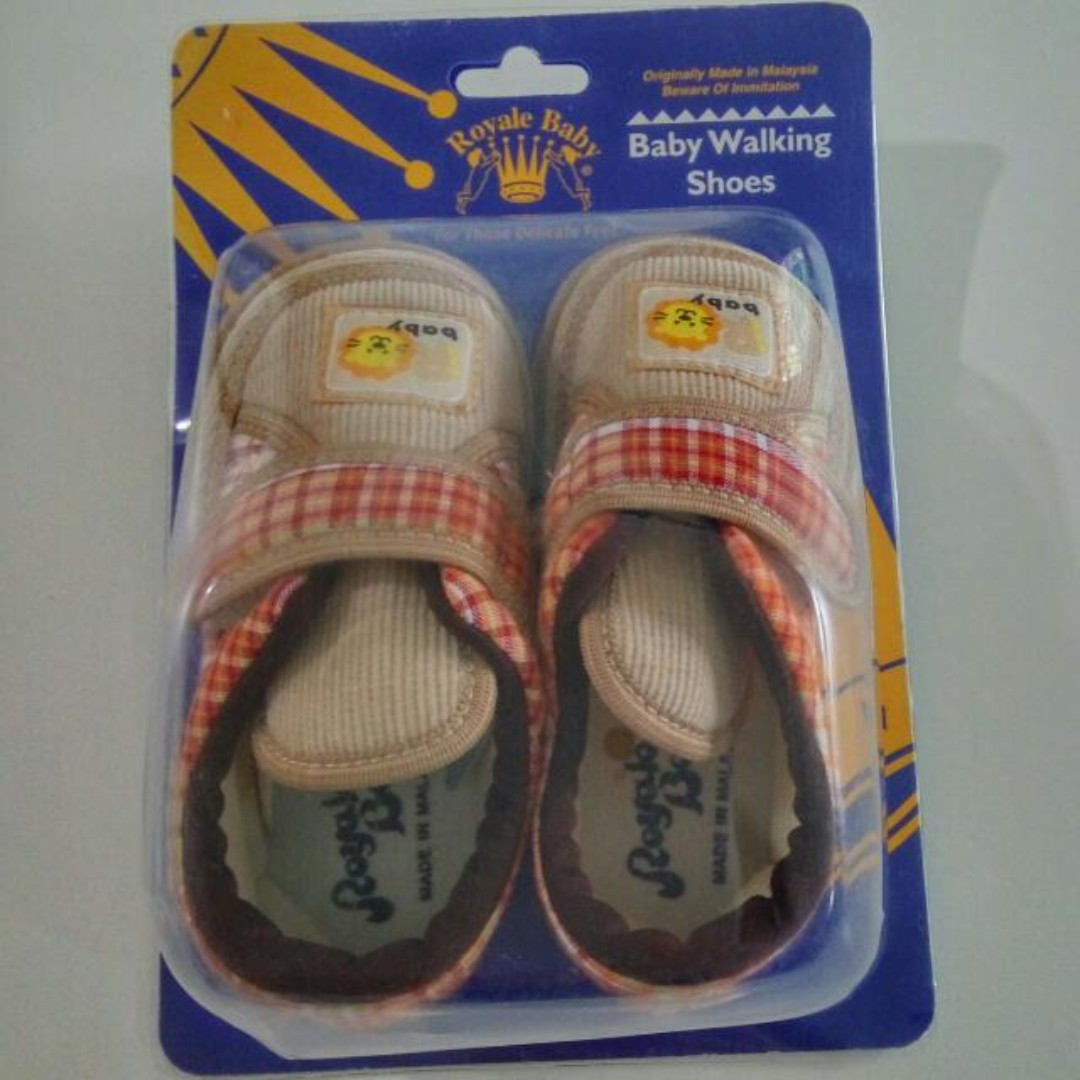 (NEW) Royal Baby Kids Shoes - Toddler Walking Shoe Size 5