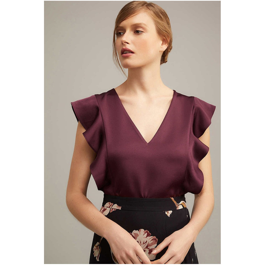 New Season Witchery Flutter Top Size 8 RRP$99.95