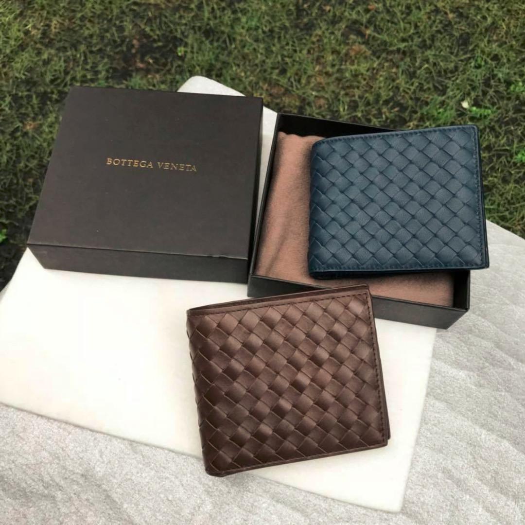 f11162994d NEW Wallet for Your Ang Pow - Bottega Veneta Intrecciato Calf Leather  Bifold Wallet