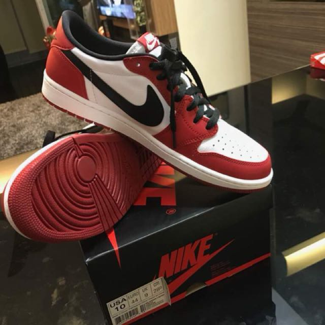b50187a2a1 Nike Air Jordan 1 Low Cut, Men's Fashion, Footwear on Carousell