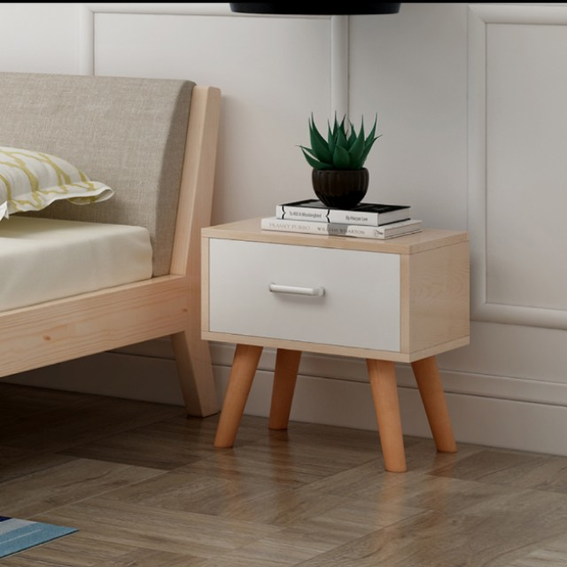 Nordic simple single drawer bedside table home furniture photo photo watchthetrailerfo