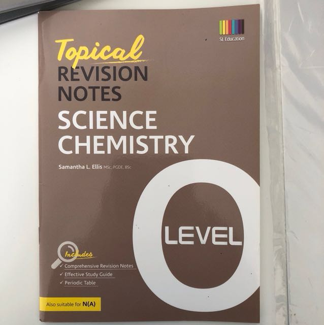 O level topical revision notes combined science chemistry books photo photo photo urtaz Image collections