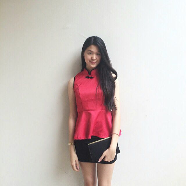 Pink Chinese Top