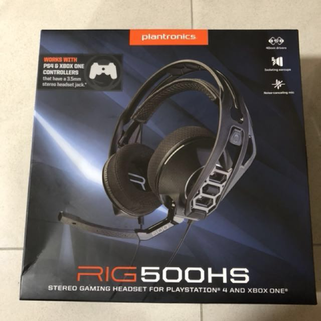 Plantronics RIG 500HS gaming headset