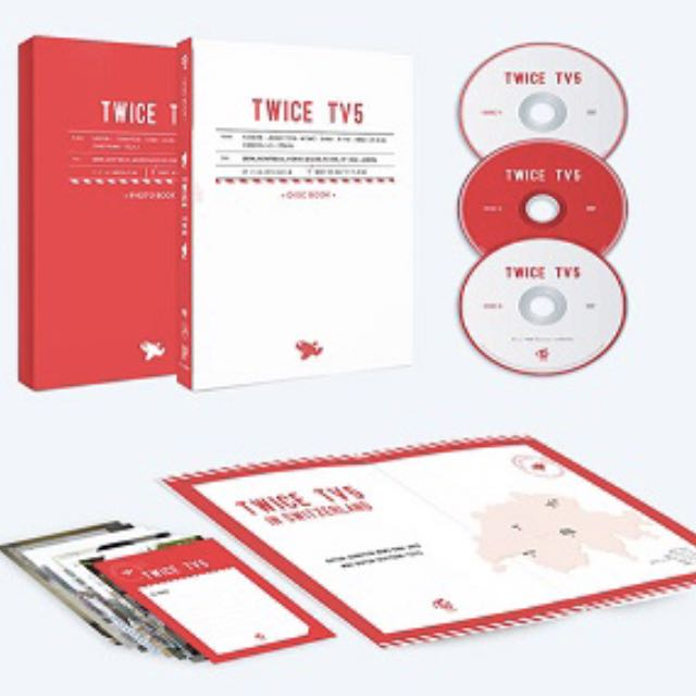 [Pre-Order] TWICE - TWICE TV5 TWICE in SWITZERLAND DVD SET