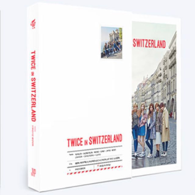[Pre-Order] TWICE - TWICE TV5 TWICE in SWITZERLAND PHOTOBOOK SET