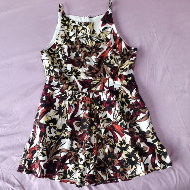 READY STOCK: FLORAL PLAYSUIT