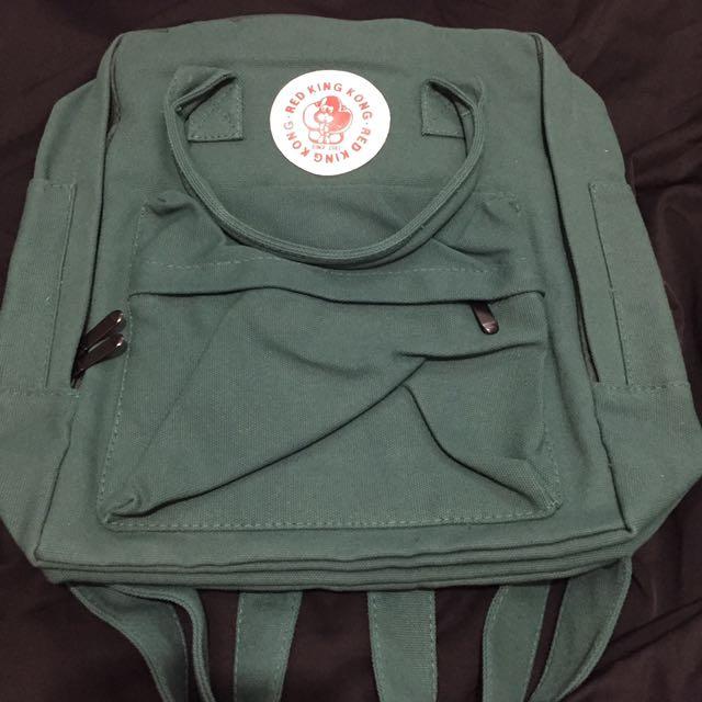 RED KING KONG 軍綠後背包