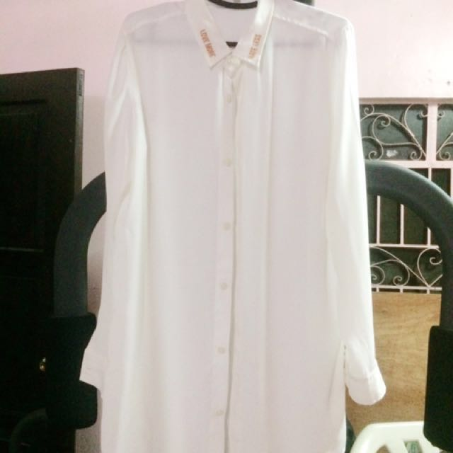 (Repriced) Long Sleeves Polo Dress