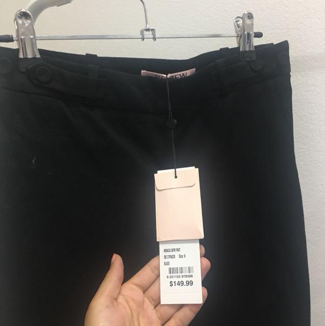 Review Black Pants
