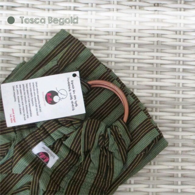 Ring Sling Tenun Premium Nana Babycarrier Tosca Begold Murah Bagus