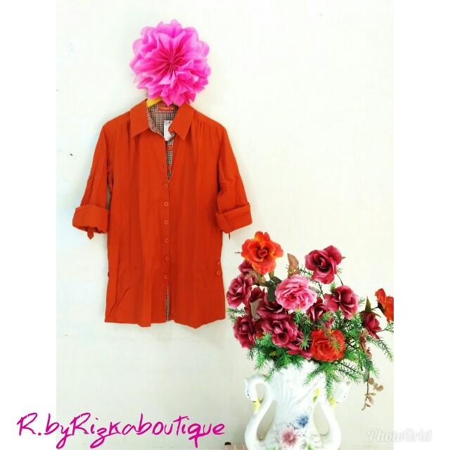 Rodeo Orange Tunik