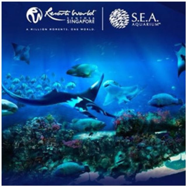 SEA AQUARIUM SINGAPORE OPEN DATE ETICKETS