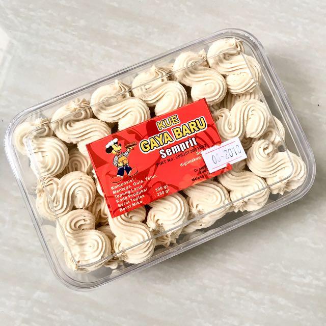 Semprit Cookies Gaya Baru