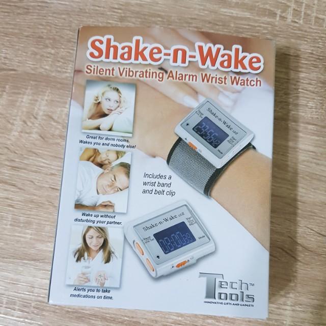 Shake-n-Wake 隨身腕錶型震動鬧鐘