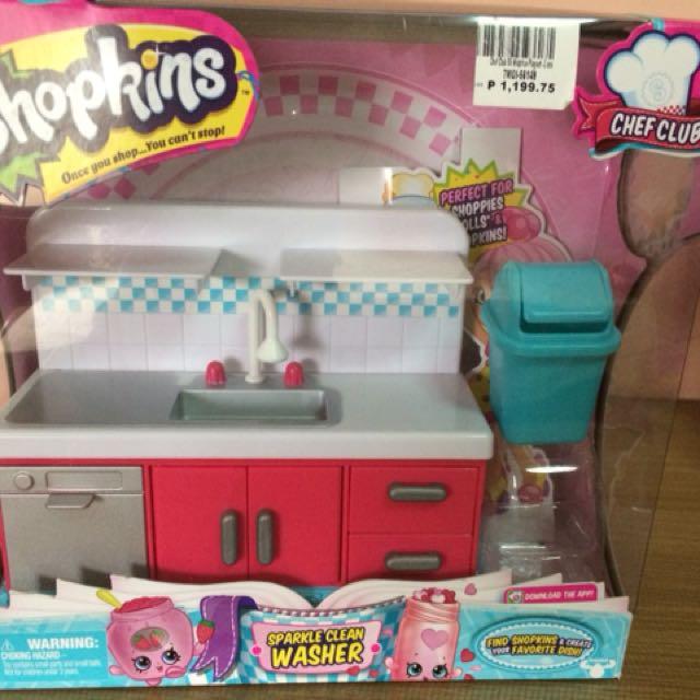 Shopkins Sparkle Washer
