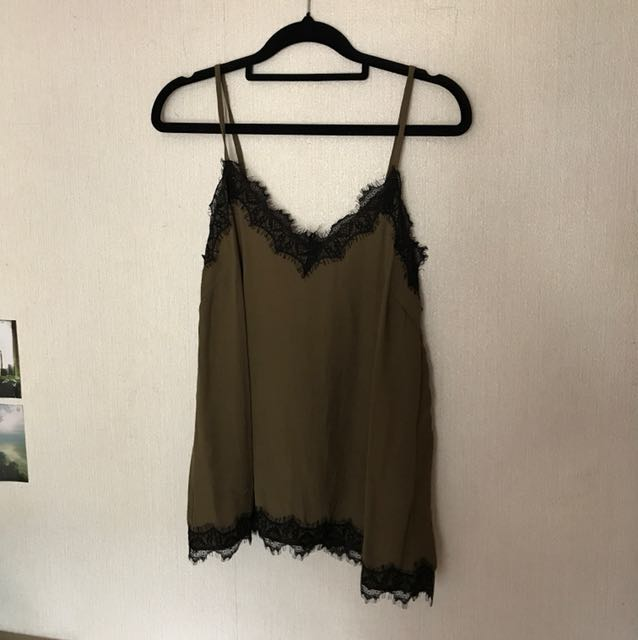 Size 6 Slip Style Top