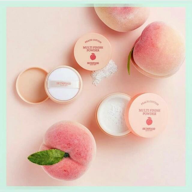 Skinfood Peach Cotton Multi Finish Powder (15gr)