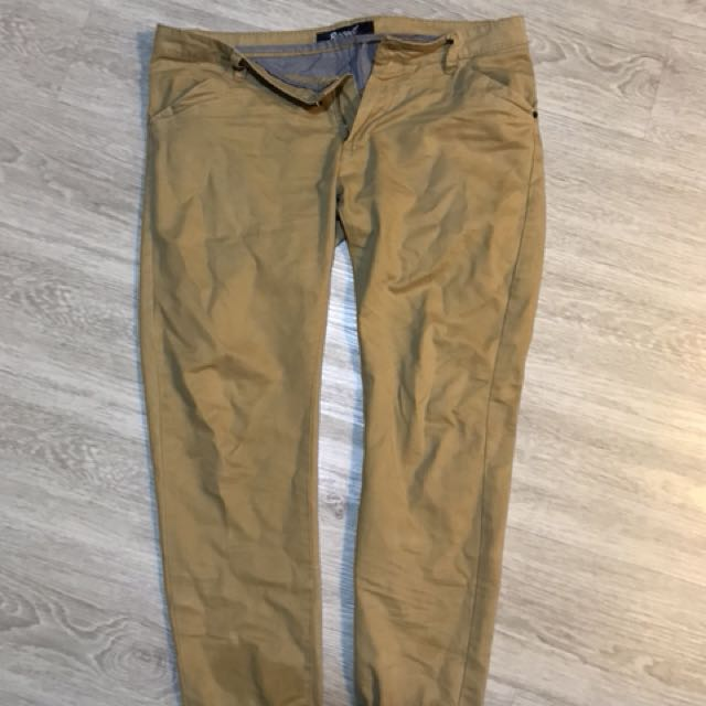 Slim Fit Long Pants (Recoil)