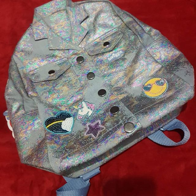 Smiggle Denim backpack