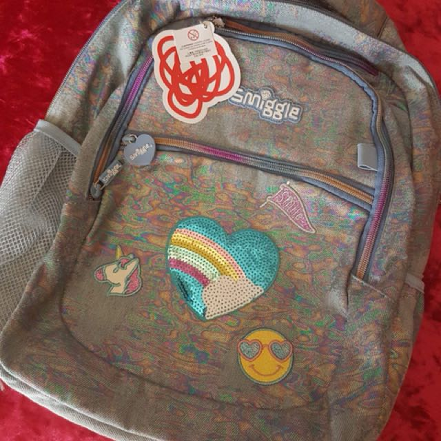 Smiggle Denim backpck