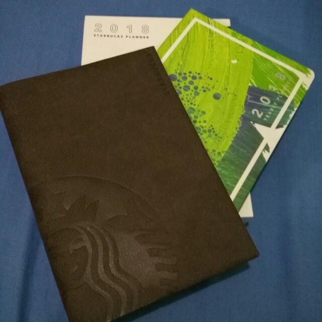 Starbucks 2018 planner FREE SF, FREE VOUCHER