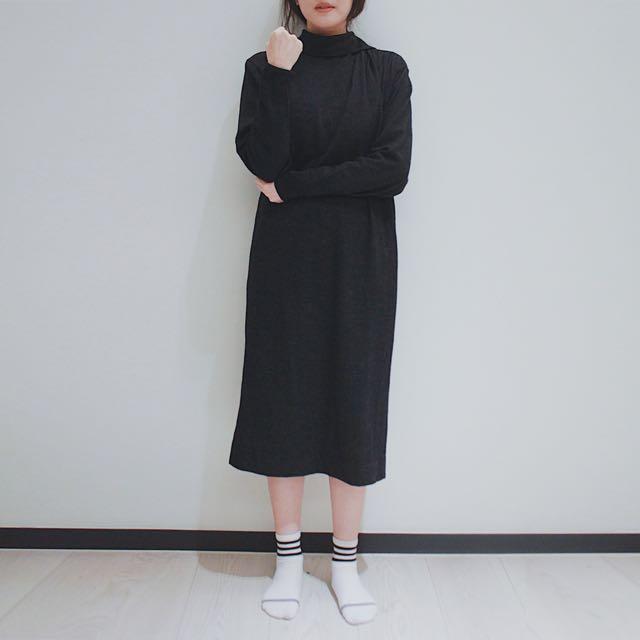 Stolman 黒ドレス  日本古着