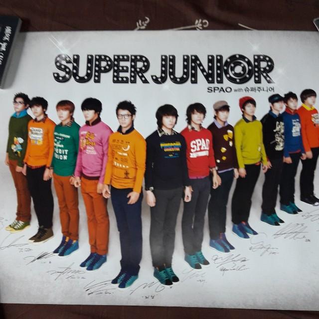 Super Junior Posters