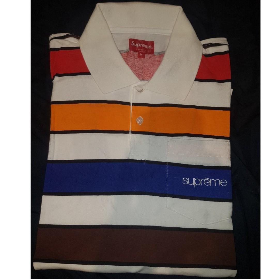 Supreme Classic Stripe Polo Tee