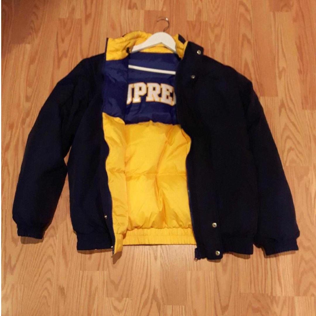 Supreme Reversible Puff Jacket