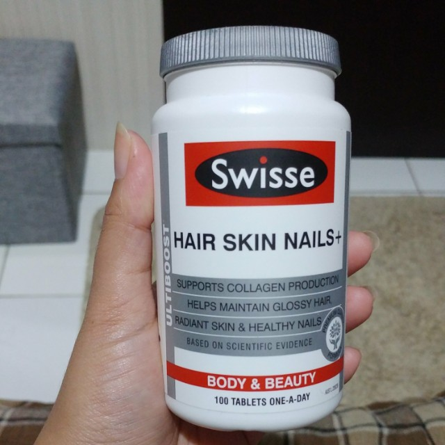 Swisse vitamin hair skin nails