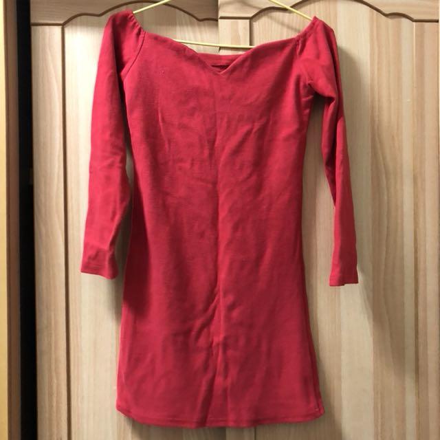 小資女孩👧長版棉質T/連身洋裝