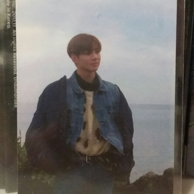 Taemin Move-ing Official photocard kpop