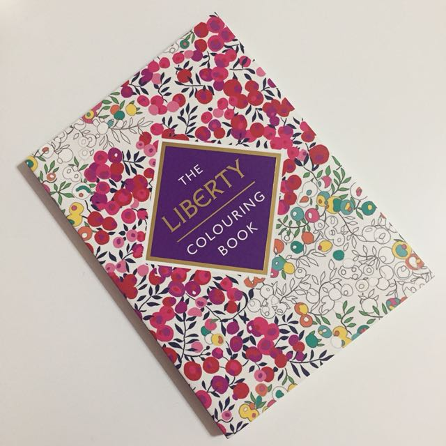 The Liberty Colouring Book Books Stationery Fiction On Carousell