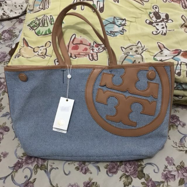 tory burch lonnie canvas tote