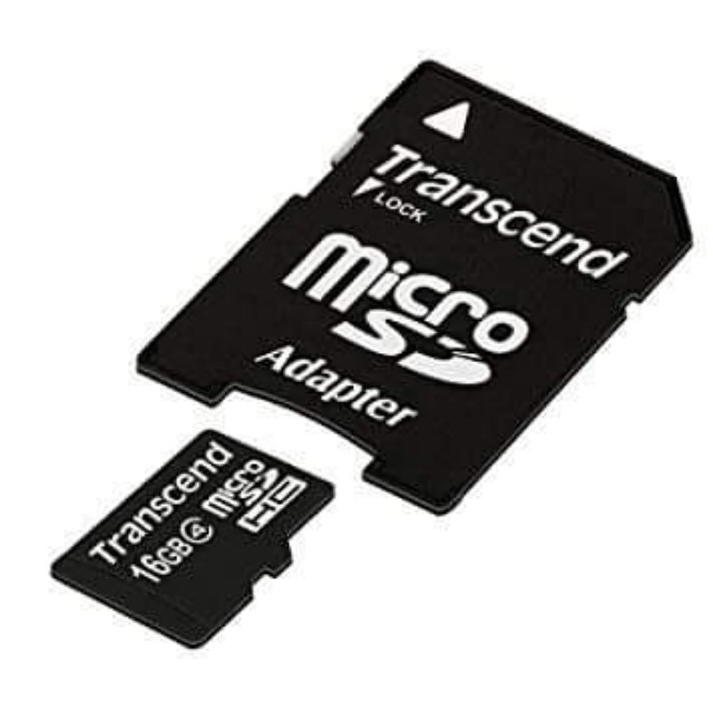 Transcend micro sd card 16gb