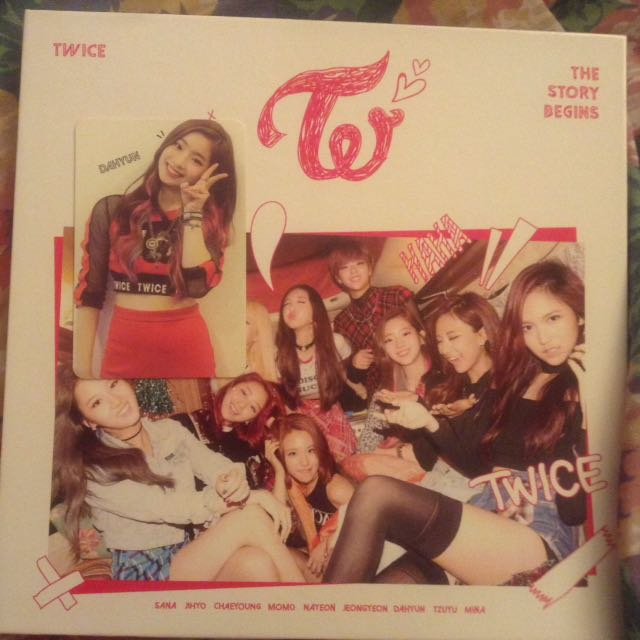 TWICE THE STORY BEGINS ALBUM