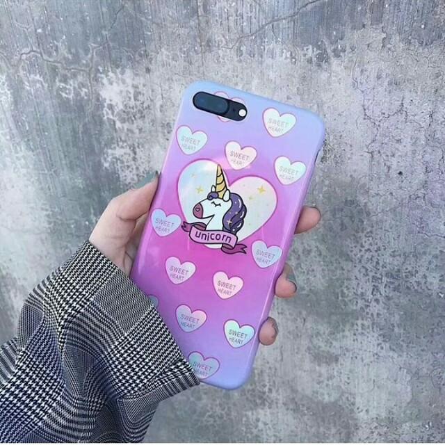 Unicorn Holo Case