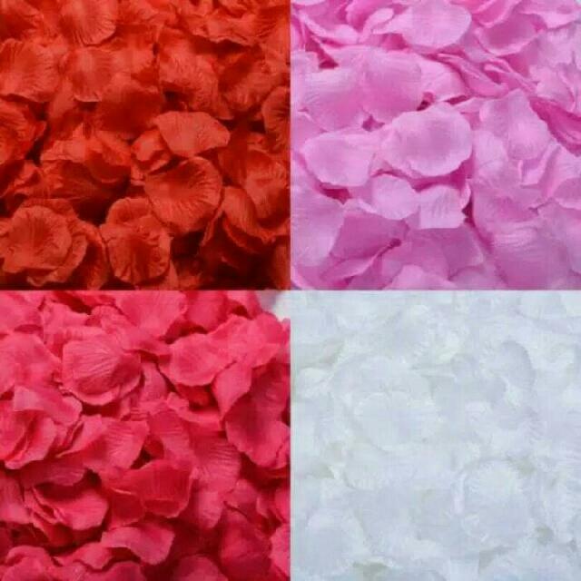 Valday decor Kelopak Bunga Mawar decal