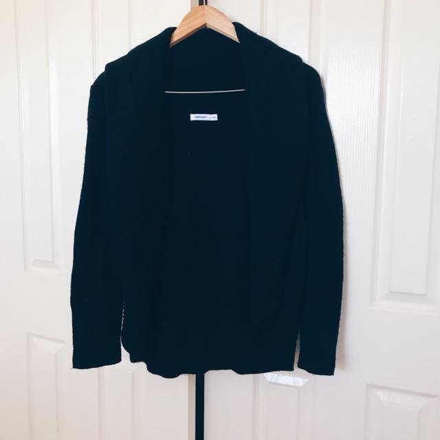 VALLEYGIRL Black Knit Cardigan