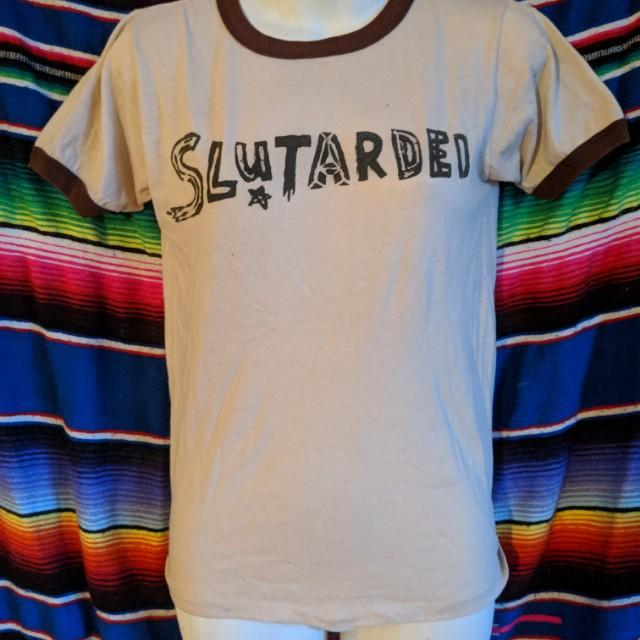 Vintage 'Slutarded' tee