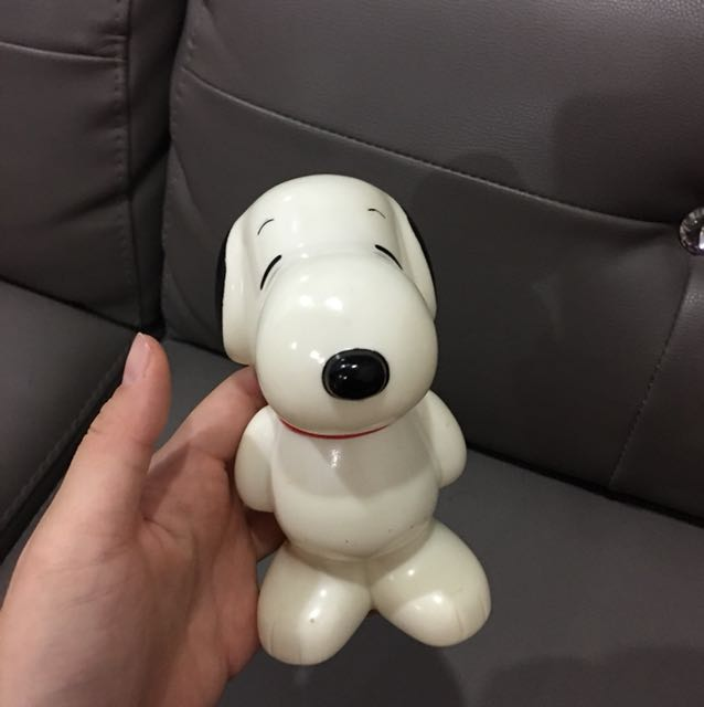 Vintage Snoopy coin bank