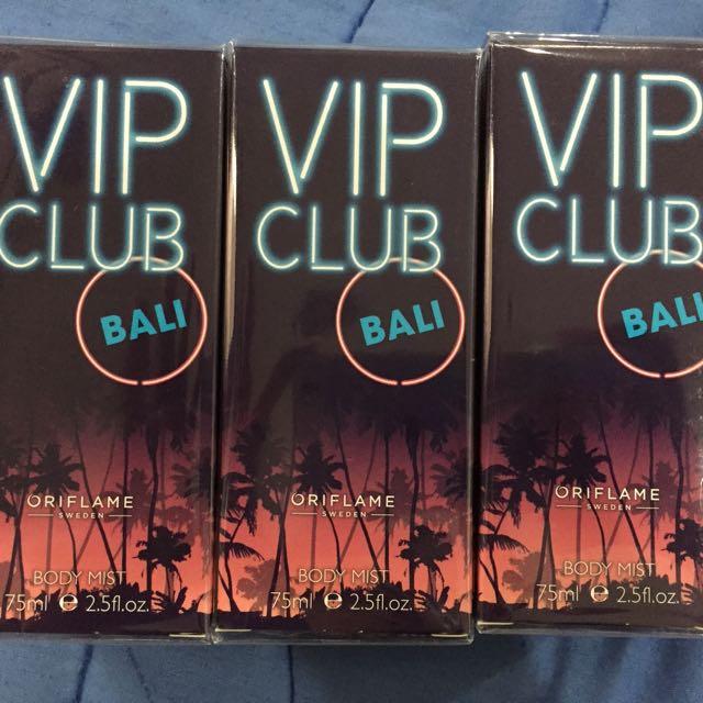 Vip club bali by oriflame