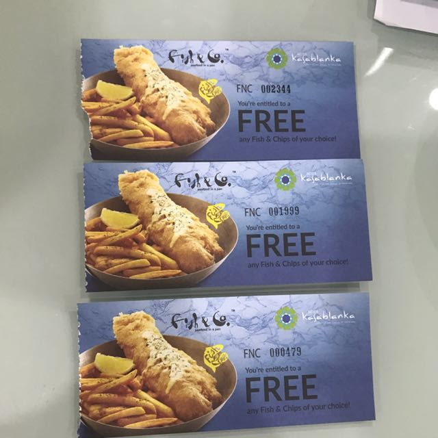 voucher fish and co (buy 1 get 1)
