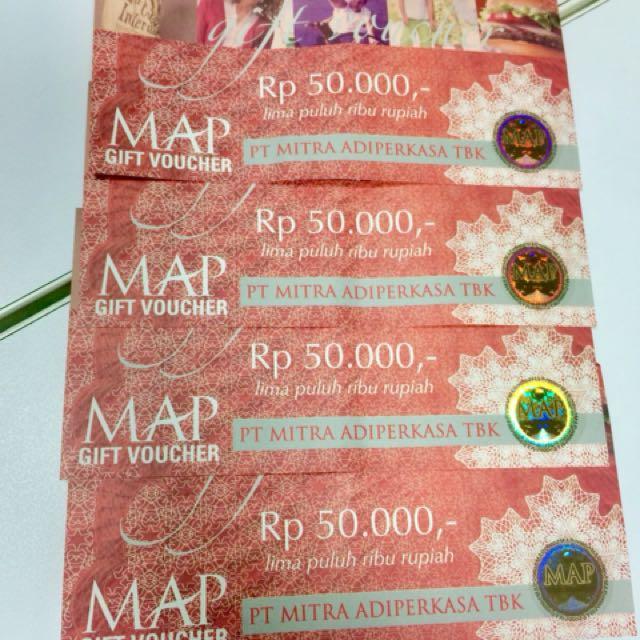 Voucher MAP Rp 200,000