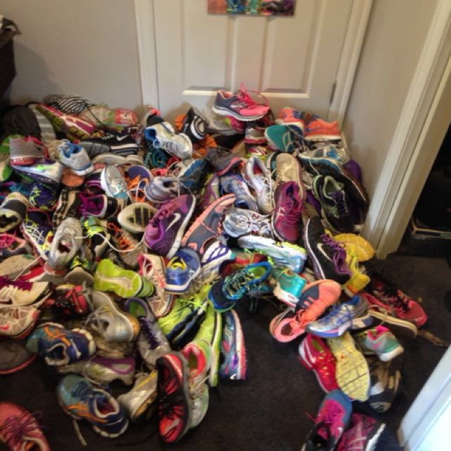 Wanted Well used sneakers Nike, Asics, Brooks, Mizuno, NB